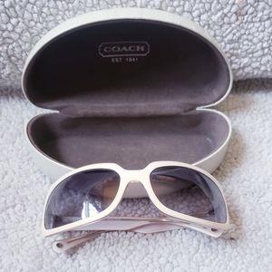 Coach Rita sunglasses with case